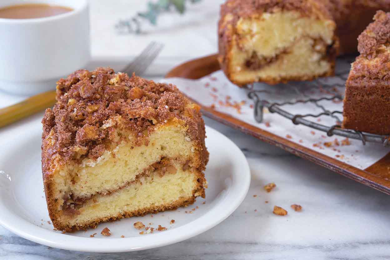Conrad S Sour Cream Coffee Cake Sherry Baby Recipes