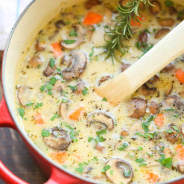 Creamy Chicken And Mushroom Soup Sherry Baby Recipes