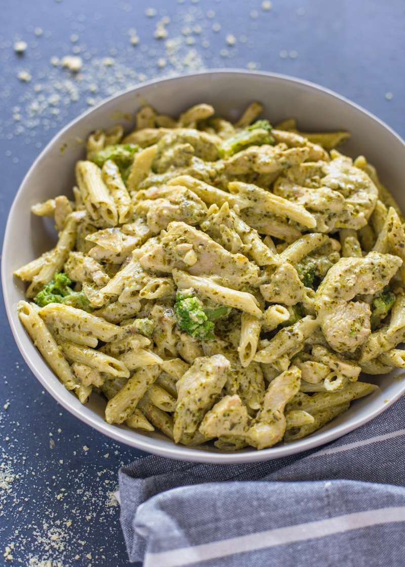 Pesto Pasta With Chicken Asparagus And Sun Dried Tomatoes Sherry Baby Recipes